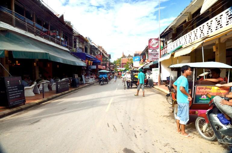 Rue de la soif, Siem Reap