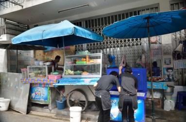 La fameuse street food