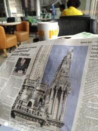 Pleine page du Bangkok post