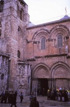 Le saint sépulcre (tombeau du Christ)