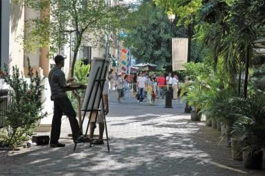 Une rue de Santo Domingo