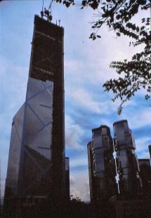 Bank of China en construction