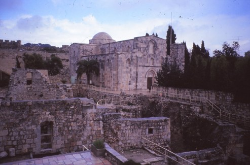 église sainte anne Jérusalem
