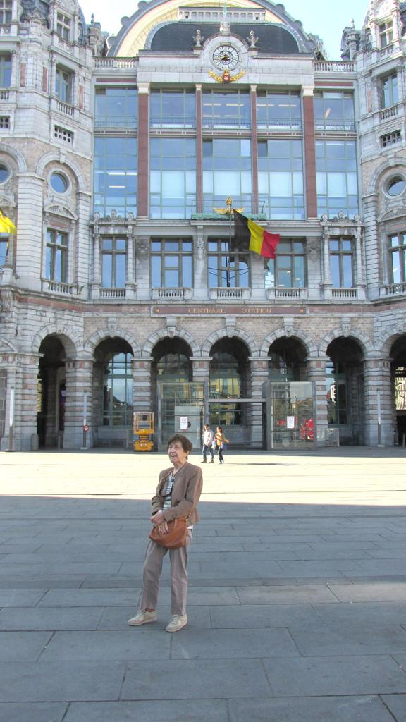 Anvers La gare
