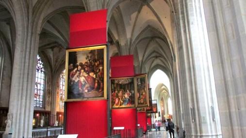 Anvers La cathédrale intérieur