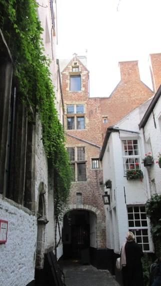 Anvers : la quartier autour de la cathédrale