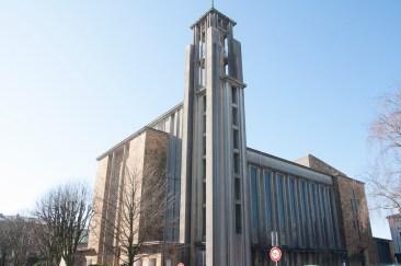 Brest: la cathédrale, la plus grande construite après guerre