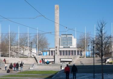 Brest: place de la liberté, et la mairie
