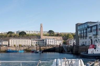 Brest: monument américain