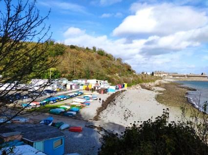 Brest plage du moilin blanc