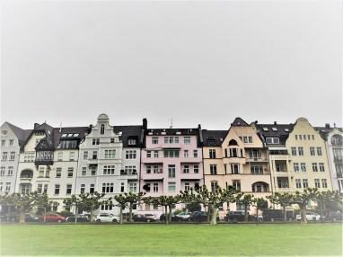 Dusseldorf quartier Oberkassel