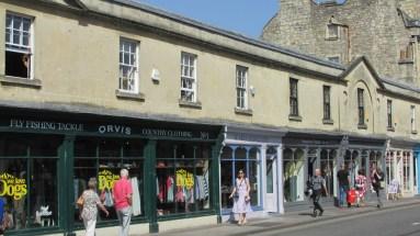 Une rue de Bath