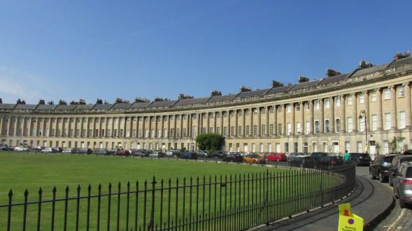 Bath Rhe royal crescent