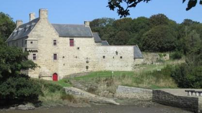 Aber Lanildut, chateau Kergroat