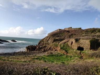 Crozon fort de Kerviniou