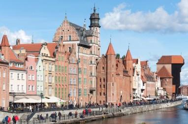 Gdansk quai Motlawa