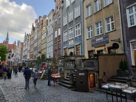 Gdansk rue Mariascka