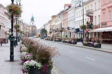 Varsovie rue Nowy Swiat