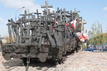 Varsovie Monument victimes communistes