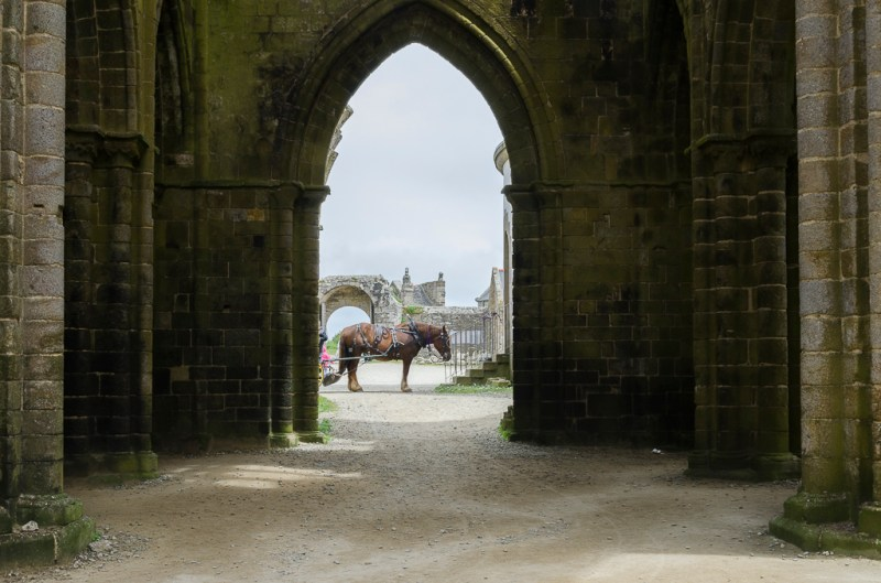 Pointe Saint Mathieu l'abbaye