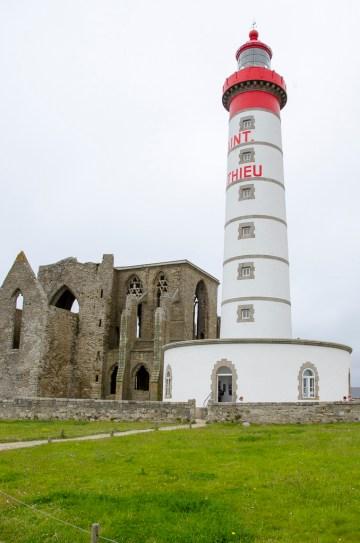 Pointe St Mathieu le phare