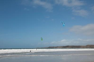Le Conquet, plage des blanc sablon