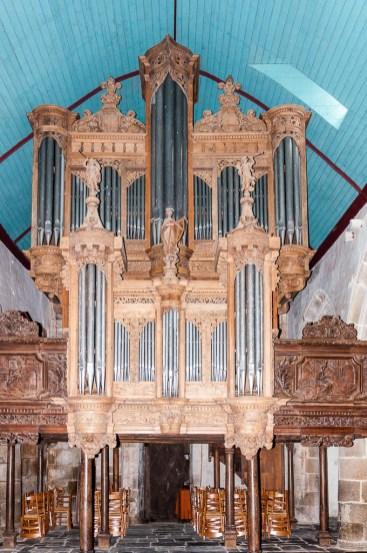 Les orgues de l'église de Guimillau