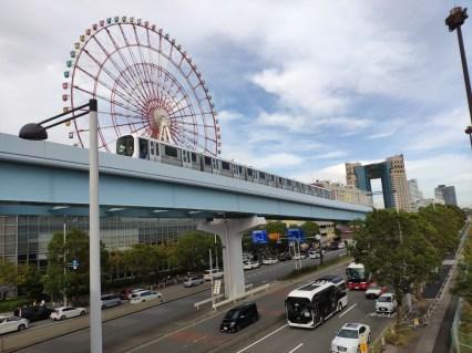 Tokyo Métro vers Odaiba