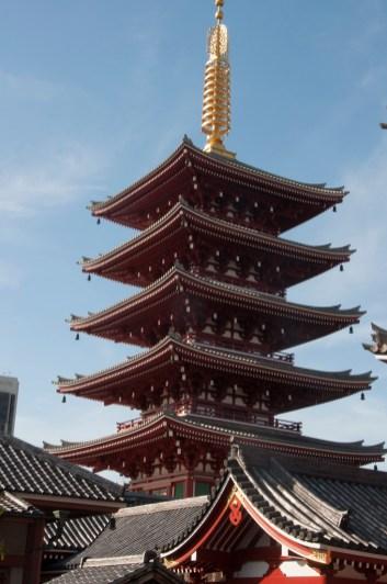 Tokyo Asakusa Pagode à 5 étages