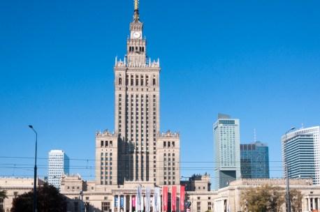 Varsovie, Palais de la culture
