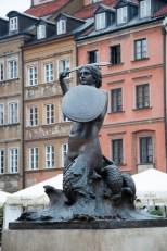la sirène, le symbole de Varsovie