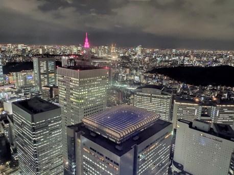 Tokyo vue depuis la mairie