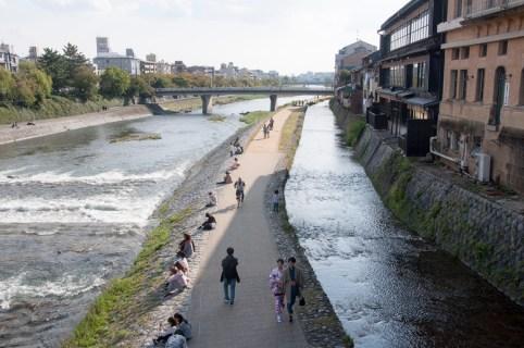 Kyoto: Tanako river
