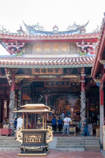 Tainan: matsu temple