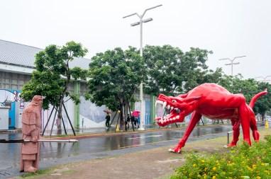 kaohsiung: pier 2 art district