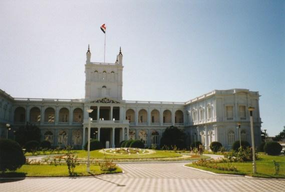 Asuncion palais présidentiel