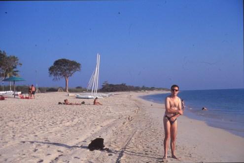 Trinitad plage aux environs