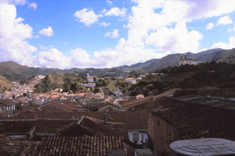 Vue générale d'Ouro Preto