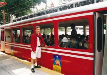 Le tram vers le Corcovado