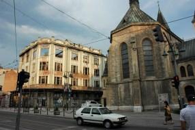 Bosnie Sarajevo. Traces de la guerre