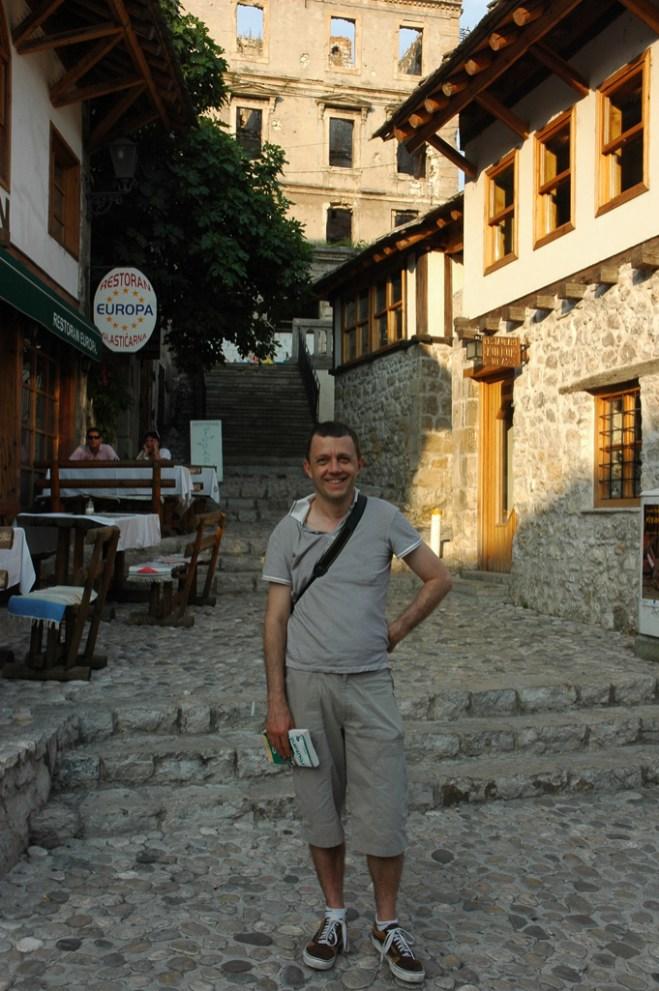 Mostar. Quartier de Kujundziluk