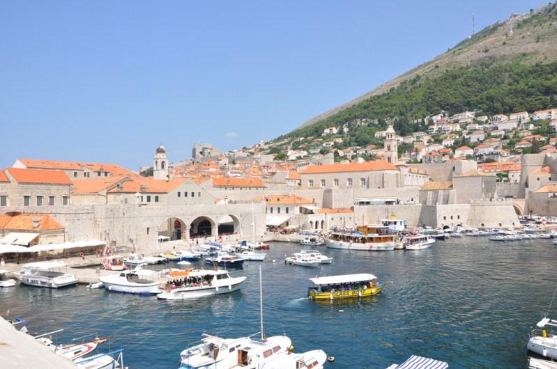 Dubrovnik: embarqement vers Lokrum
