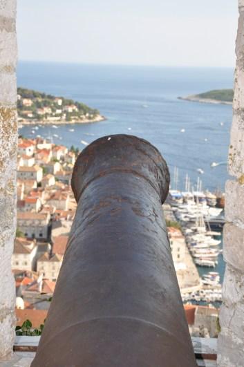 ville de Hvar, forteresse espagnole