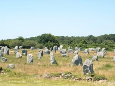 Carnac Site du Menec (il y a 4 sites d'alignements)