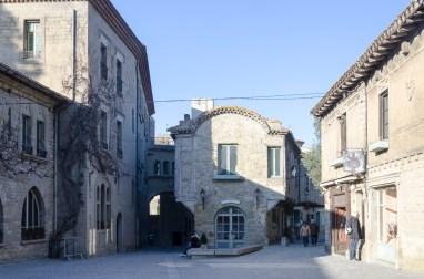 Carcassonne intérieur de la vieille ville
