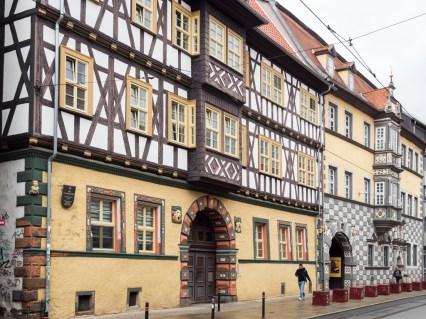 Erfurt: la vieille ville
