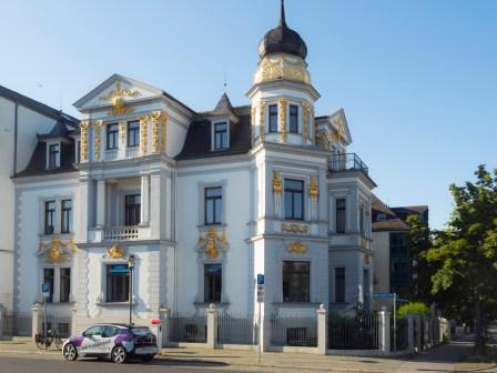 Weimar: face à la gare