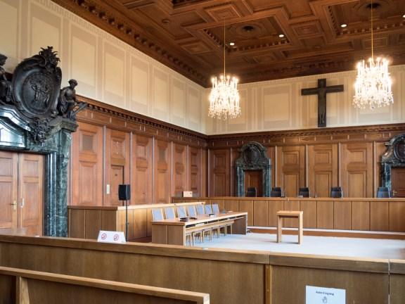 Nuremberg salle 600 (salle du procès)