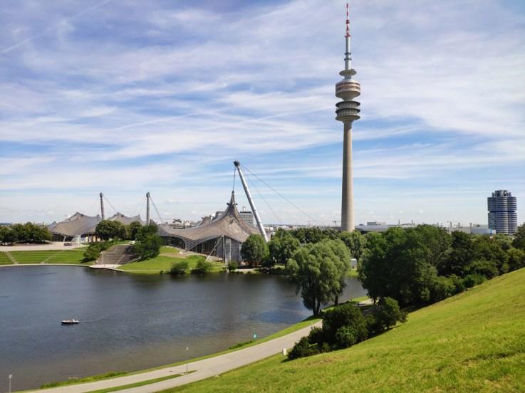 Munich le centre Olympique de 1972