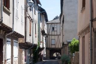 Bastide de Sauveterre en Rouergue